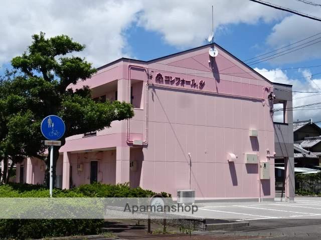 静岡県焼津市、焼津駅静鉄バスバス12分西小川下車後徒歩3分の築17年 2階建の賃貸アパート