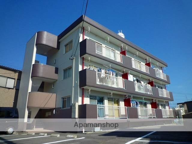 静岡県藤枝市、藤枝駅徒歩11分の築33年 3階建の賃貸マンション
