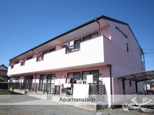 静岡県藤枝市、西焼津駅徒歩18分の築19年 2階建の賃貸アパート