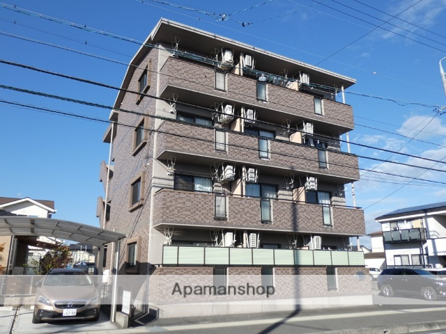 静岡県藤枝市、藤枝駅徒歩19分の築9年 4階建の賃貸マンション