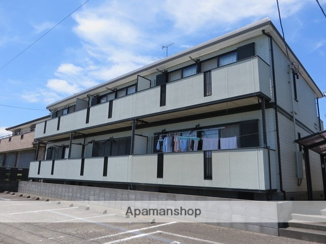 静岡県牧之原市の築19年 2階建の賃貸アパート