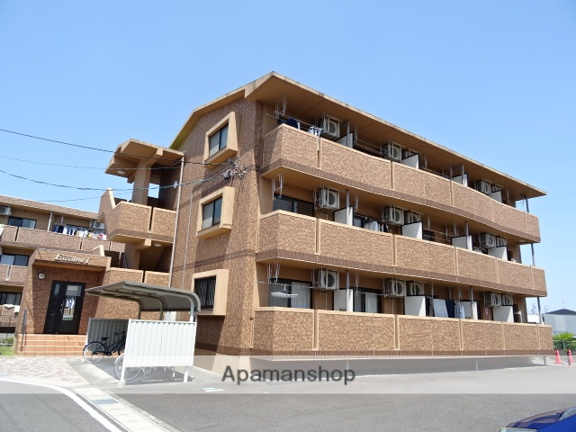 静岡県榛原郡吉田町の築9年 3階建の賃貸マンション