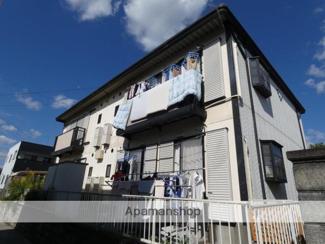 静岡県藤枝市、藤枝駅静岡鉄道バスバス25分五十海北下車後徒歩8分の築25年 2階建の賃貸アパート
