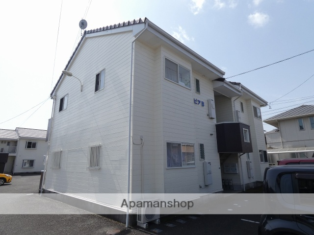 静岡県藤枝市、藤枝駅徒歩17分の築21年 2階建の賃貸アパート