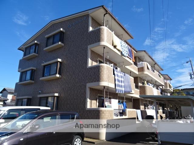 静岡県藤枝市、藤枝駅徒歩12分の築22年 3階建の賃貸マンション