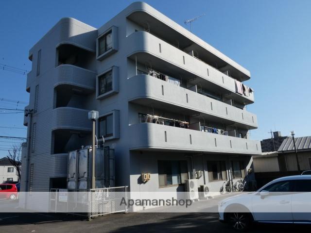静岡県藤枝市、藤枝駅徒歩6分の築23年 4階建の賃貸マンション