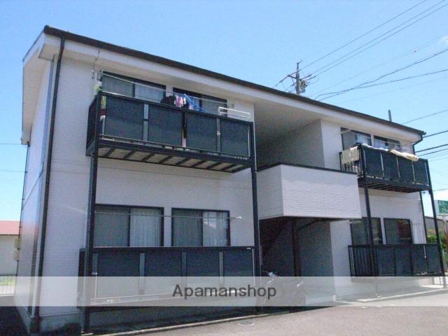 静岡県藤枝市、藤枝駅徒歩20分の築18年 2階建の賃貸アパート