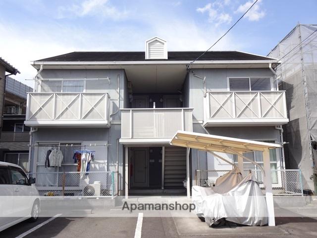 静岡県焼津市、西焼津駅徒歩11分の築23年 2階建の賃貸アパート