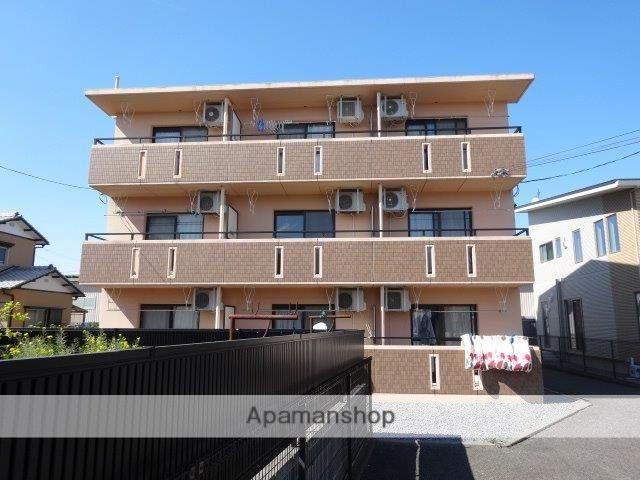 静岡県藤枝市、藤枝駅徒歩21分の築13年 3階建の賃貸マンション