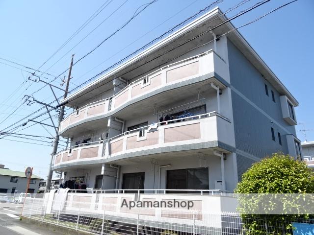 静岡県藤枝市、藤枝駅徒歩14分の築21年 3階建の賃貸マンション
