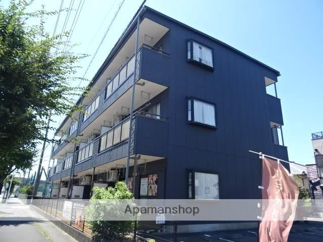 静岡県焼津市、焼津駅徒歩18分の築17年 3階建の賃貸アパート