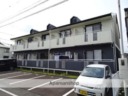 静岡県藤枝市、藤枝駅徒歩18分の築25年 2階建の賃貸アパート