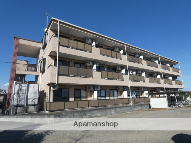 静岡県牧之原市の築17年 3階建の賃貸アパート