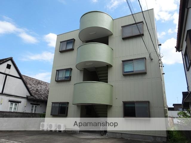 静岡県焼津市、西焼津駅徒歩4分の築25年 3階建の賃貸アパート