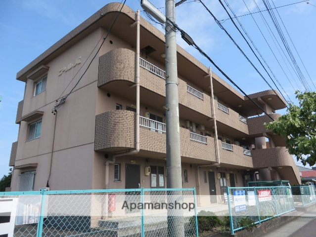 静岡県焼津市、西焼津駅徒歩5分の築22年 3階建の賃貸マンション