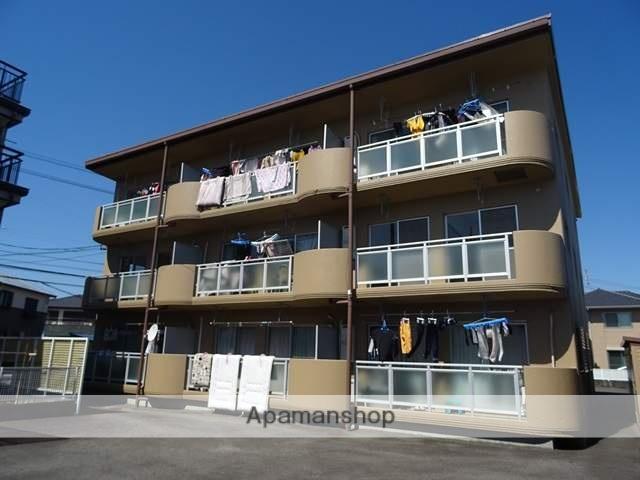 静岡県焼津市、焼津駅徒歩21分の築24年 3階建の賃貸マンション