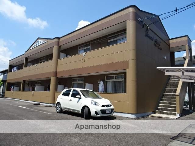 静岡県藤枝市、藤枝駅徒歩13分の築21年 2階建の賃貸アパート
