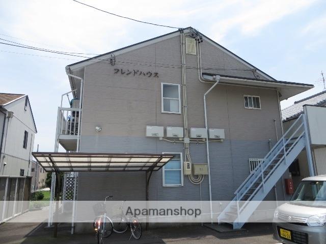 静岡県焼津市、焼津駅静鉄バスバス20分天野医院前下車後徒歩5分の築19年 2階建の賃貸アパート
