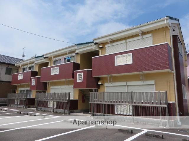 静岡県藤枝市、藤枝駅徒歩19分の築23年 2階建の賃貸アパート