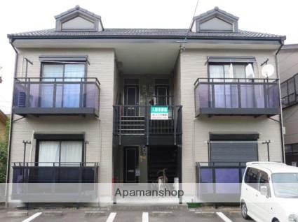 静岡県藤枝市、藤枝駅徒歩7分の築20年 2階建の賃貸アパート