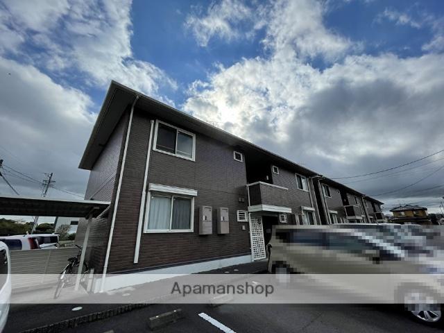 静岡県焼津市、焼津駅バス10分大覚寺下車後徒歩3分の築8年 2階建の賃貸アパート