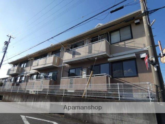 静岡県藤枝市、藤枝駅静鉄バスバス15分駿河台下車後徒歩2分の築25年 2階建の賃貸アパート