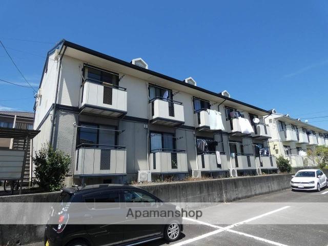 静岡県藤枝市、藤枝駅静鉄バスバス8分さくら通り下車後徒歩2分の築25年 2階建の賃貸アパート