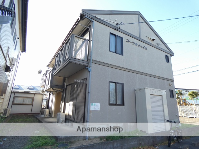 静岡県焼津市、焼津駅徒歩14分の築22年 2階建の賃貸アパート