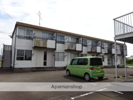 静岡県焼津市の築34年 2階建の賃貸アパート