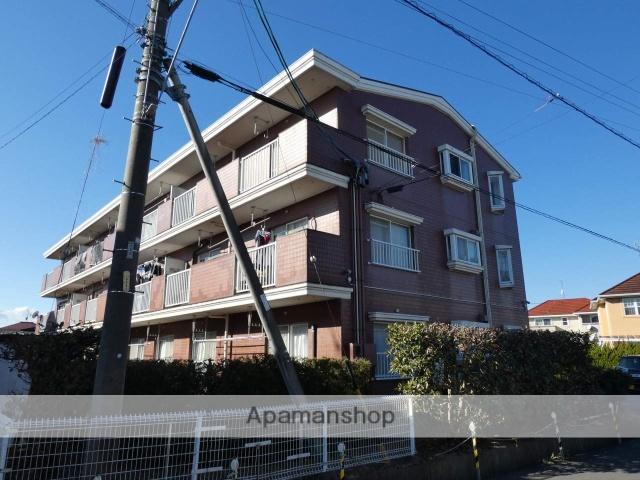 静岡県藤枝市、藤枝駅徒歩17分の築29年 3階建の賃貸マンション