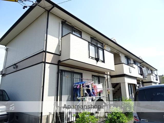 静岡県焼津市、西焼津駅徒歩9分の築23年 2階建の賃貸アパート