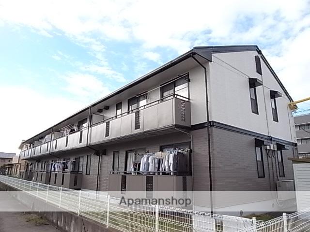 静岡県藤枝市、藤枝駅徒歩15分の築23年 2階建の賃貸アパート