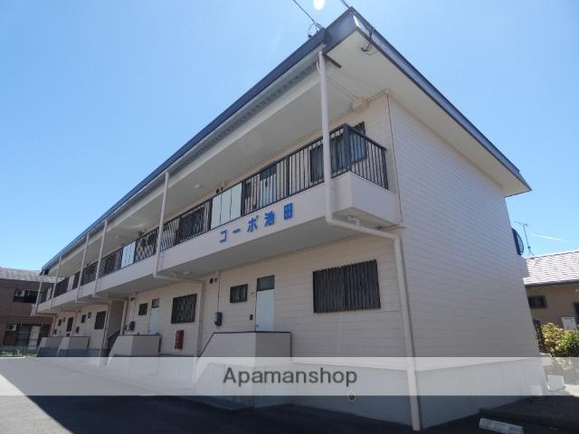 静岡県藤枝市、藤枝駅徒歩14分の築28年 2階建の賃貸アパート