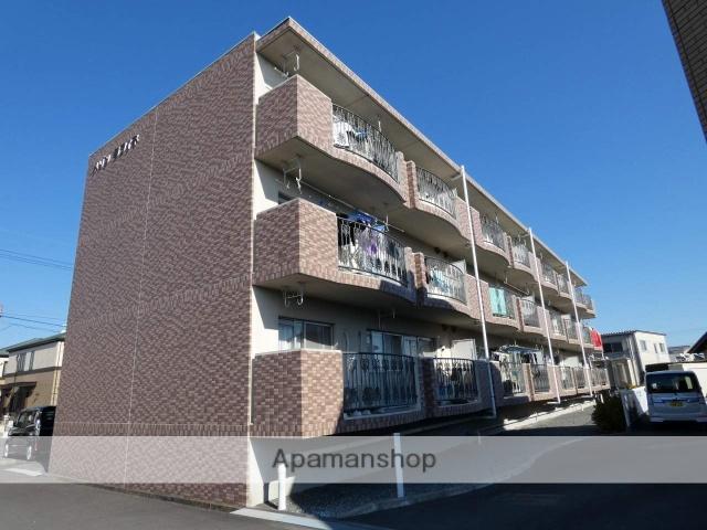静岡県藤枝市、藤枝駅徒歩17分の築20年 3階建の賃貸マンション