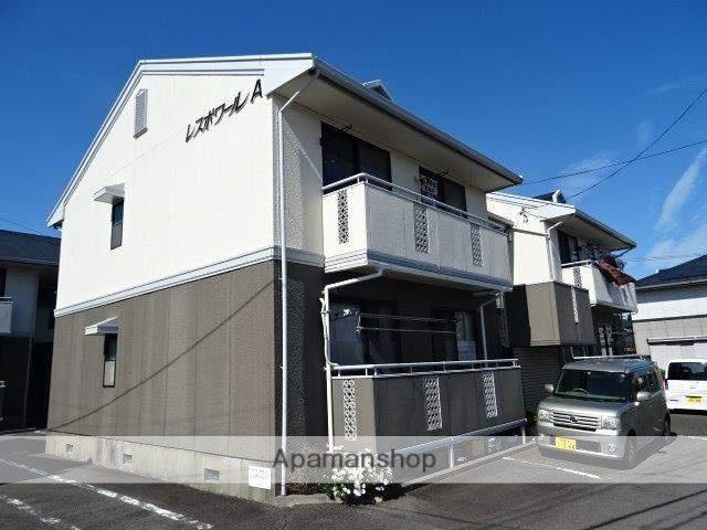 静岡県藤枝市、藤枝駅徒歩20分の築22年 2階建の賃貸アパート