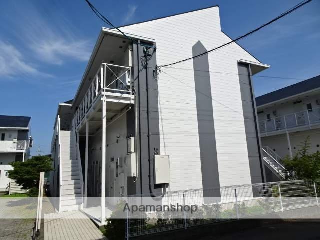 静岡県藤枝市、藤枝駅静岡鉄道バスバス10分大新島下車後徒歩2分の築24年 2階建の賃貸アパート