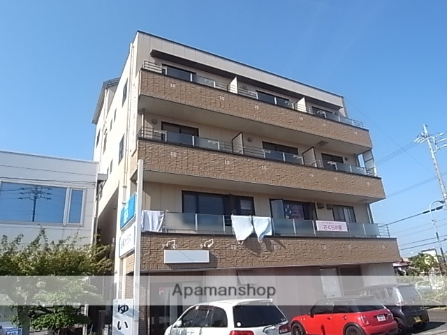 静岡県藤枝市、藤枝駅徒歩9分の築16年 4階建の賃貸アパート
