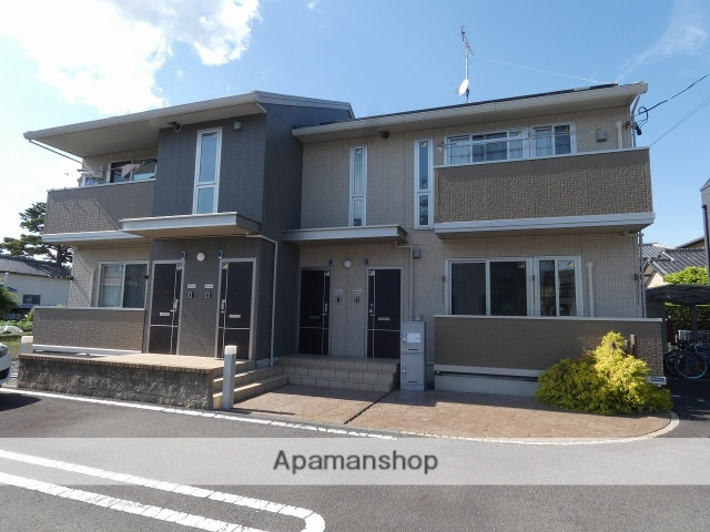静岡県藤枝市、藤枝駅徒歩21分の築2年 2階建の賃貸アパート