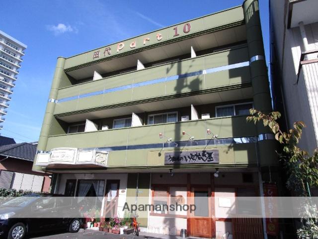 静岡県藤枝市、藤枝駅徒歩4分の築21年 3階建の賃貸アパート
