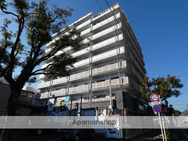 静岡県焼津市、焼津駅徒歩1分の築29年 9階建の賃貸マンション