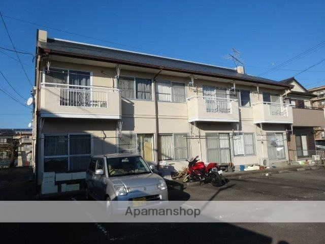 静岡県藤枝市、藤枝駅徒歩22分の築30年 2階建の賃貸アパート