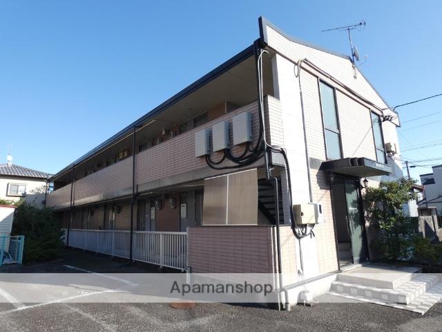 静岡県藤枝市、藤枝駅徒歩19分の築19年 2階建の賃貸アパート