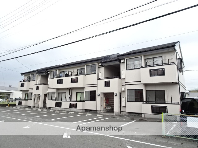 静岡県藤枝市、藤枝駅徒歩11分の築20年 2階建の賃貸アパート