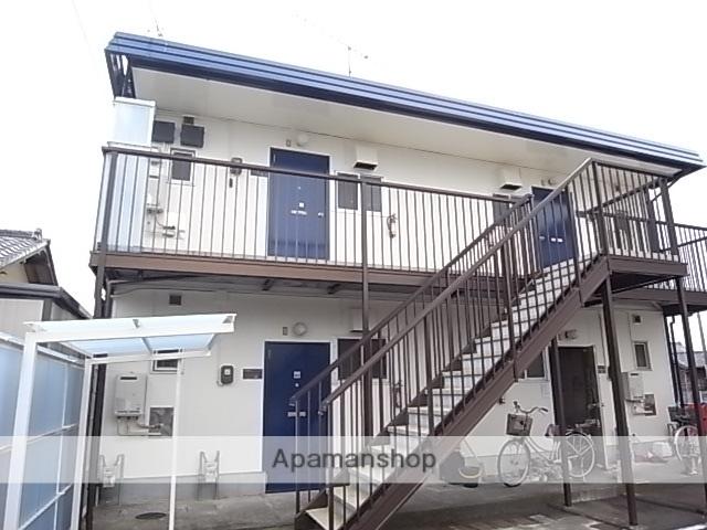 静岡県藤枝市、藤枝駅静鉄バスバス8分高洲下車後徒歩10分の築32年 2階建の賃貸アパート