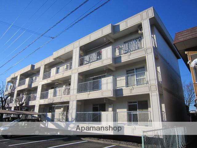 静岡県藤枝市、藤枝駅徒歩17分の築33年 3階建の賃貸マンション