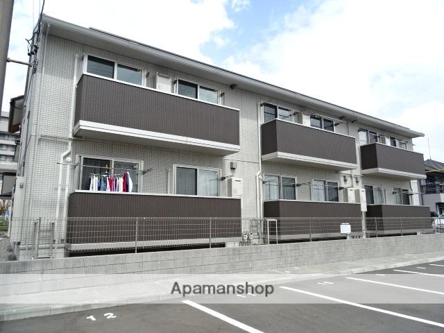 静岡県藤枝市、藤枝駅バス13分駿河台下車後徒歩2分の築1年 2階建の賃貸アパート