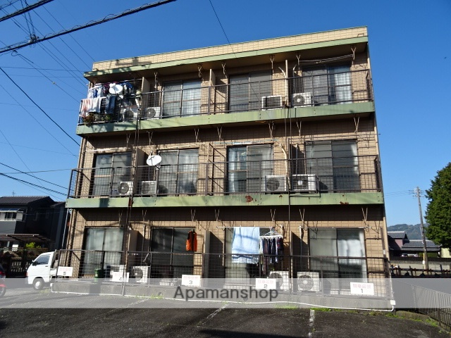 静岡県藤枝市、西焼津駅しずてつバス10分成田山前下車後徒歩1分の築28年 3階建の賃貸アパート