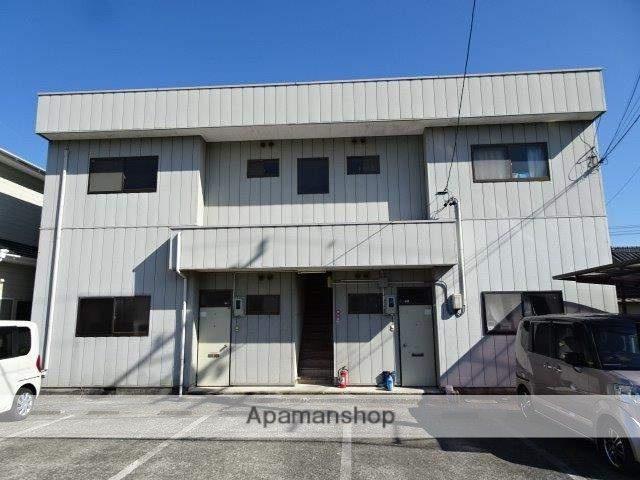 静岡県島田市、六合駅徒歩22分の築23年 2階建の賃貸アパート