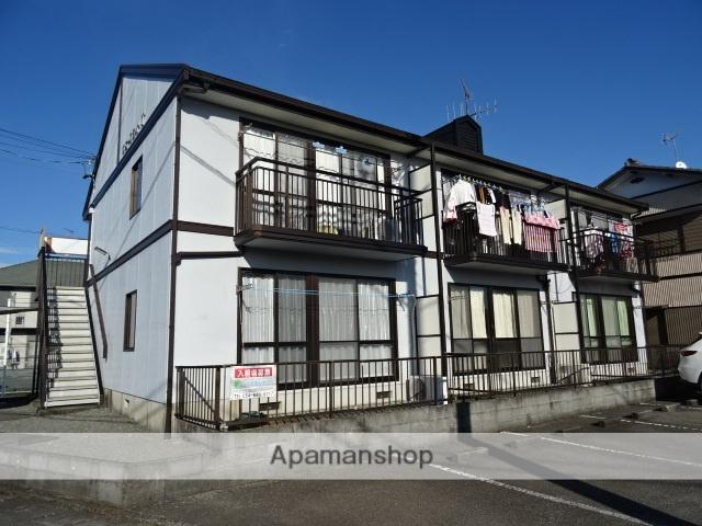 静岡県島田市、島田駅徒歩15分の築22年 2階建の賃貸アパート