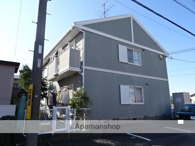 静岡県焼津市の築22年 2階建の賃貸アパート
